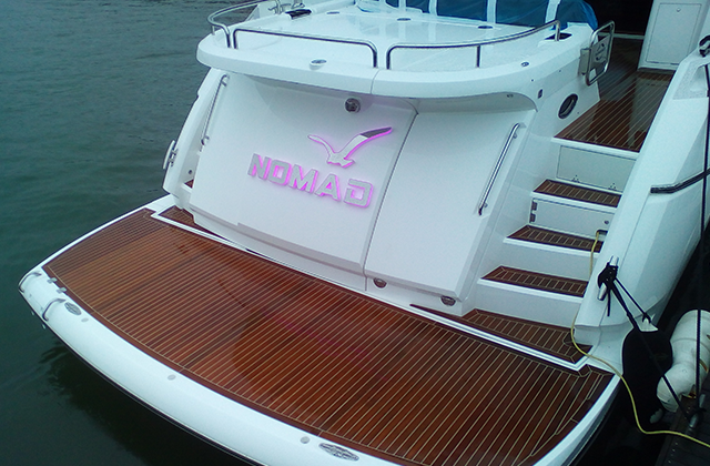 Nomad Yacht Sign
