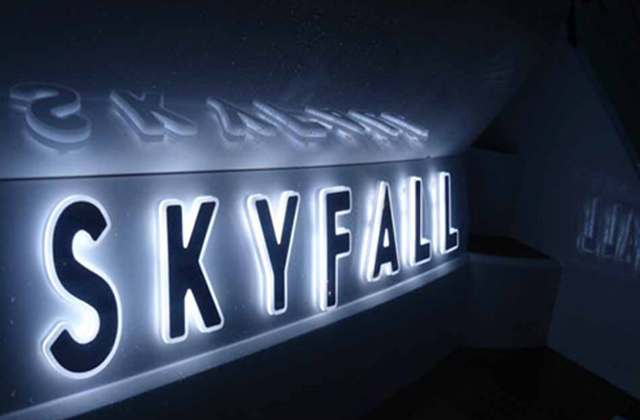 Skyfall Yacht Sign