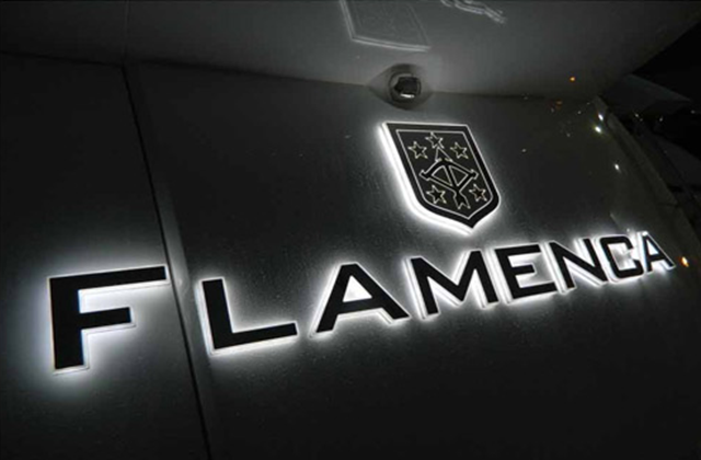 Flamenca Yacht Sign