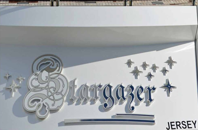 Stargazer Yacht Sign