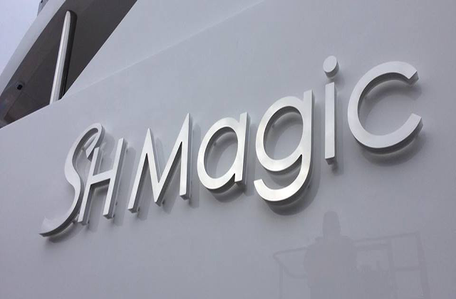 Shmagic Yacht Sign